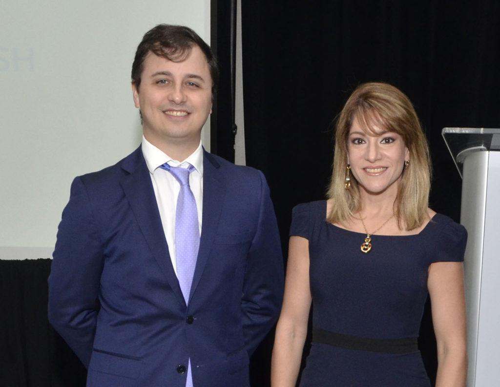 Andrés Del Pino y Christie Pou