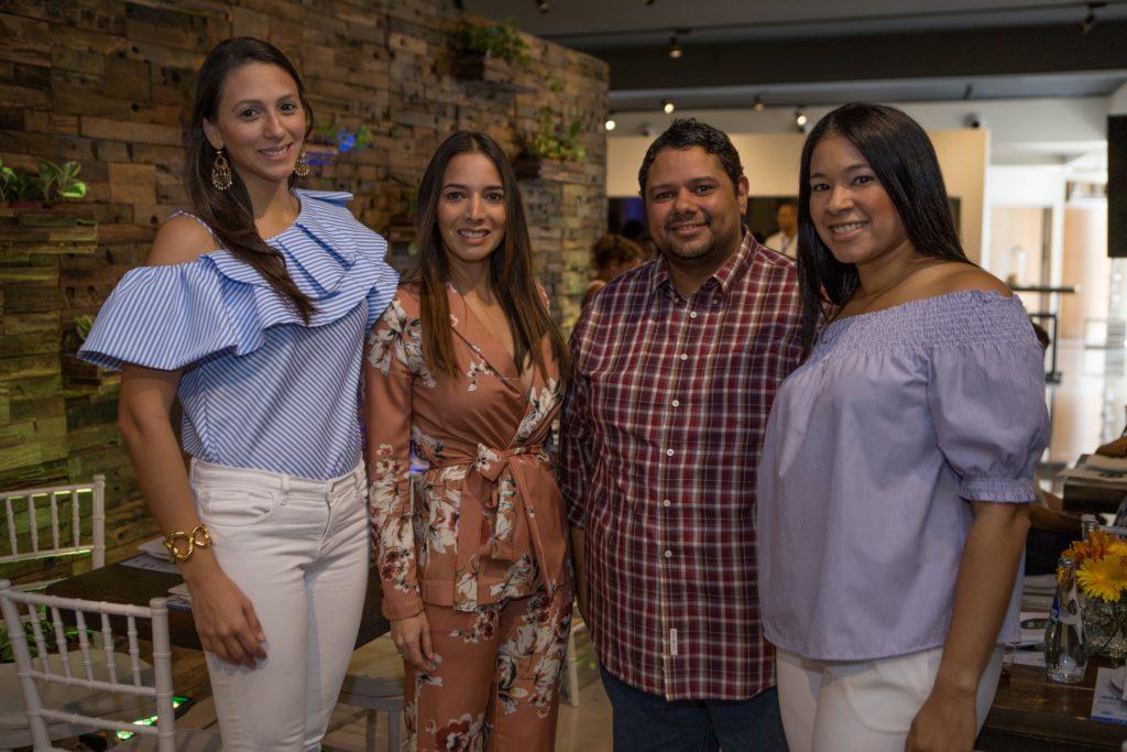 Dra. Susana Kury, Dra. Giselle Escaño, Arturo Feliz Camilo, Marlenny Peña