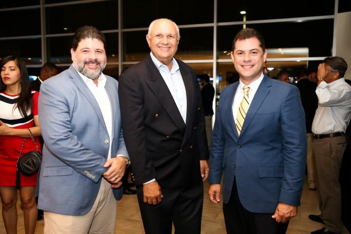 Harold Abbott, José Carlos Batista, CEO de Infiniti, Anibal Rodríguez