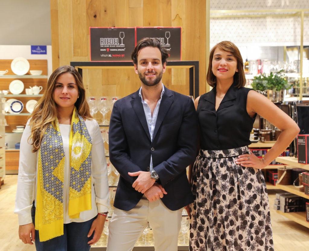 Nicole Castillo, Stefano Cavoli y Luz Grullón