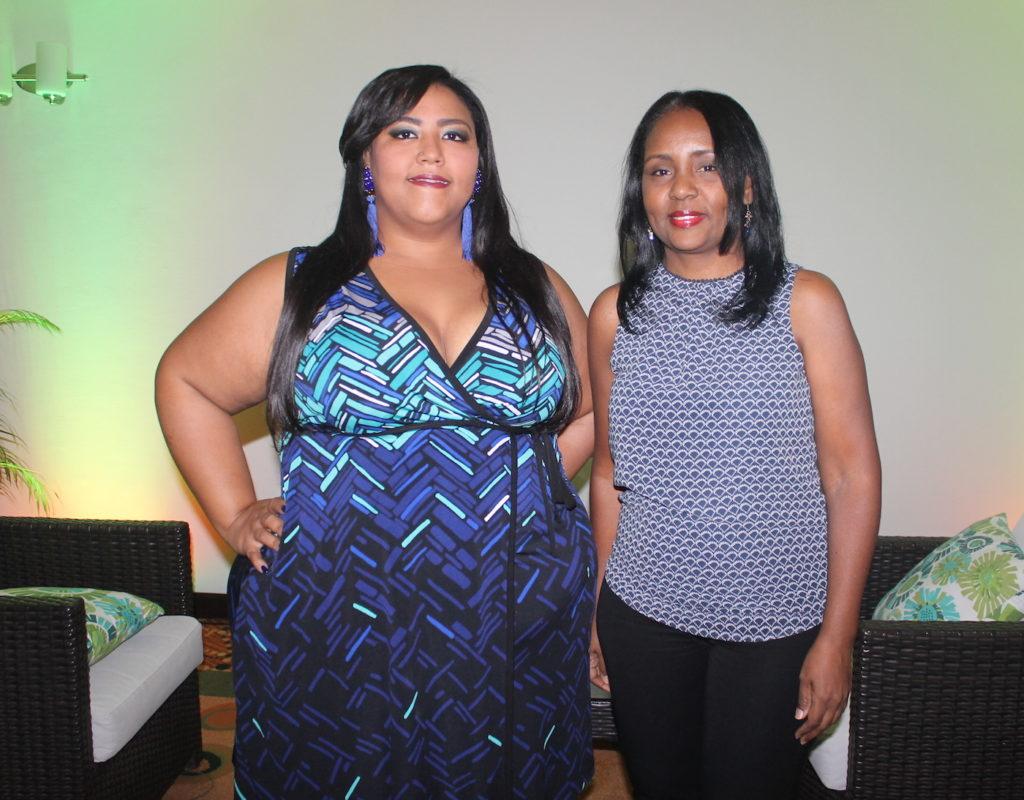 Rita Pérez y Raquel Lugo.