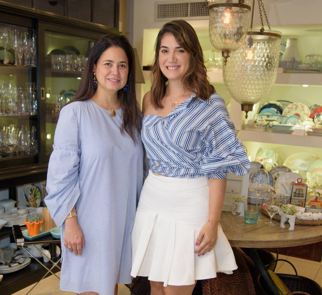 Ana María Guzmán y María Conchita Arcalá