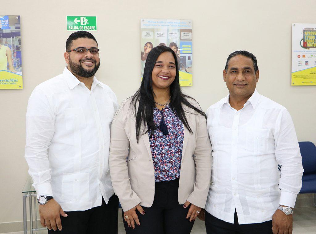 Iuribeel Gómez, Anabel Polanco y Nelson Villar