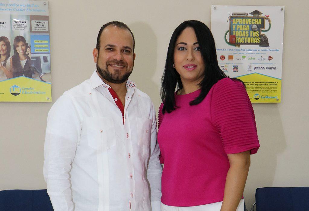Joe Lugo y Francina Jiménez