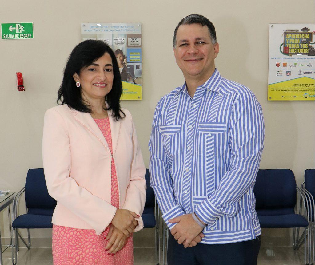María Ceballos y Silvano Guzmán