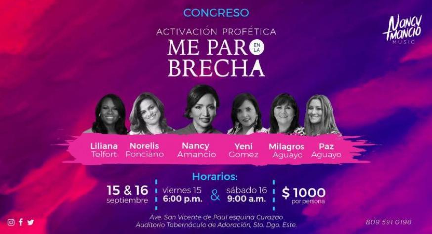 Nancy Amancio afiche del Congreso