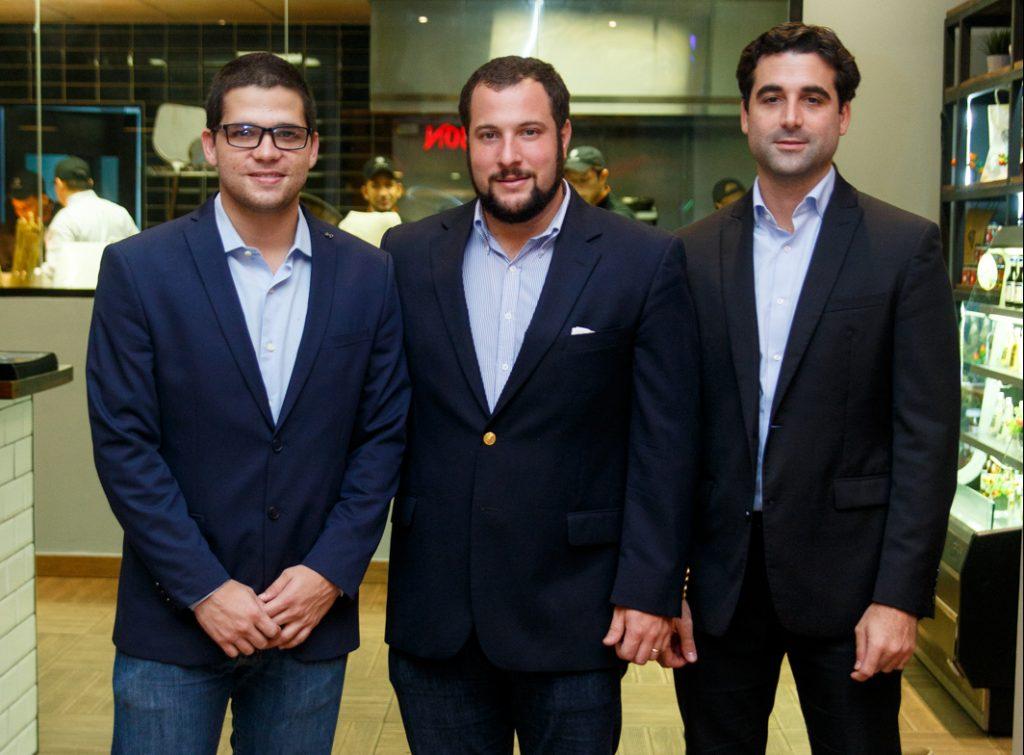 Carlos Ochoa, Alejandro Rivas y José Nelton González