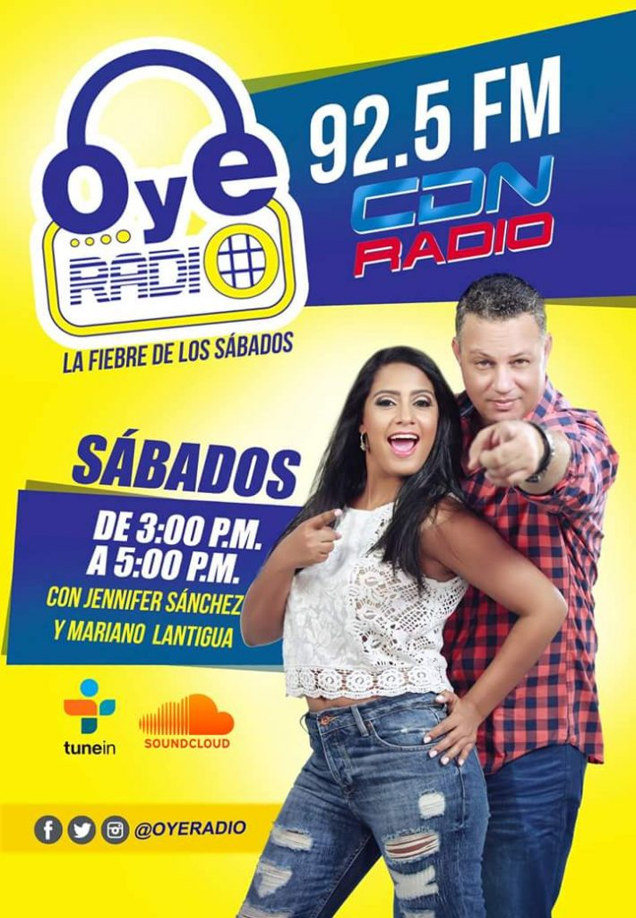 Póster Oye Radio