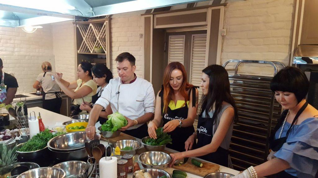 Turismo RD celebra serie de máster class de gastronomía en Almaty, Kazakhstan