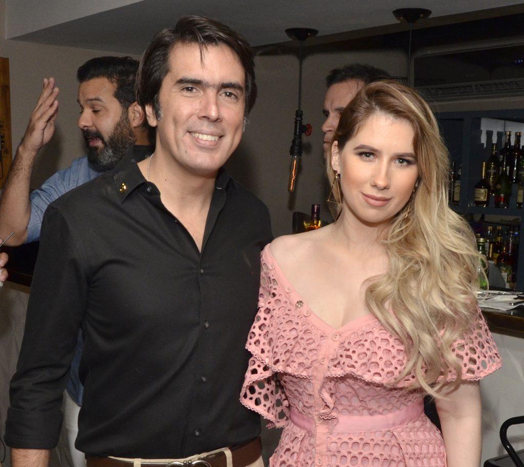 Pedro Fondeur y Ivana Gavrilovic