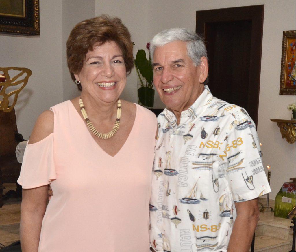Vivian de Aguayo y Alfonso Aguayo
