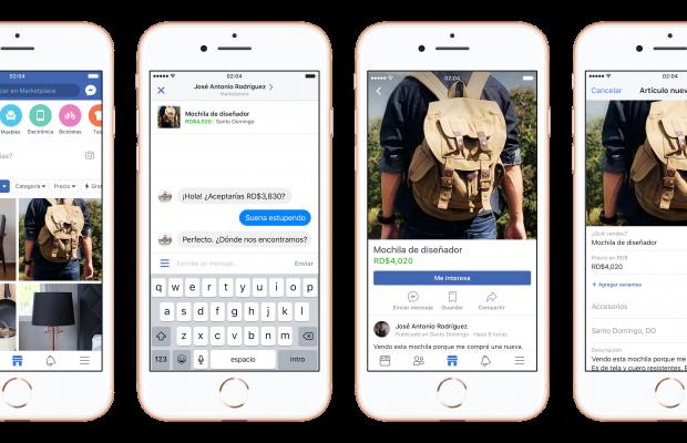 Facebook Marketplace llega a Perú para motivar el e-commerce