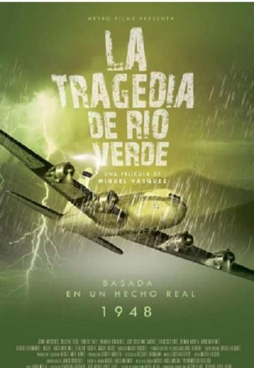 cartel La Tragedia del Dio Verde