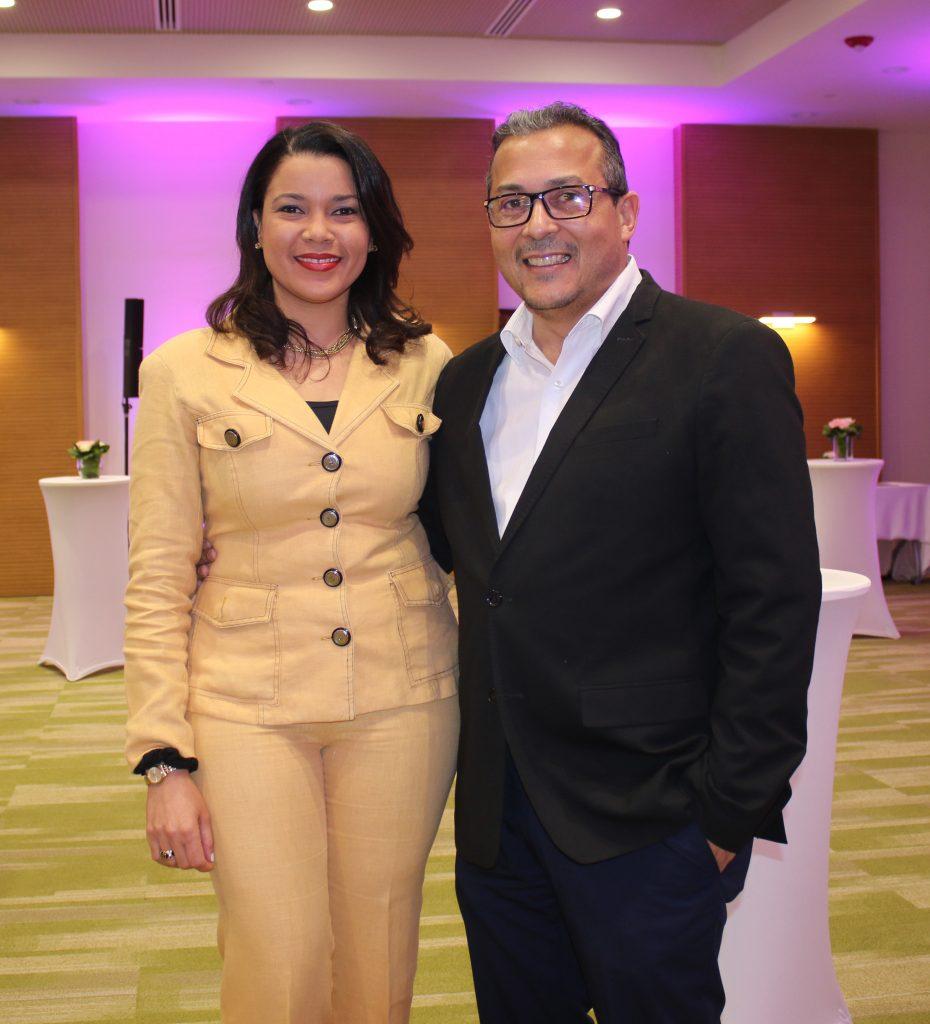 Wendy La Paz y Andrés Ureña