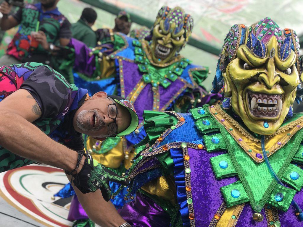 Celebrción de Carnaval en La Cueva Presidente
