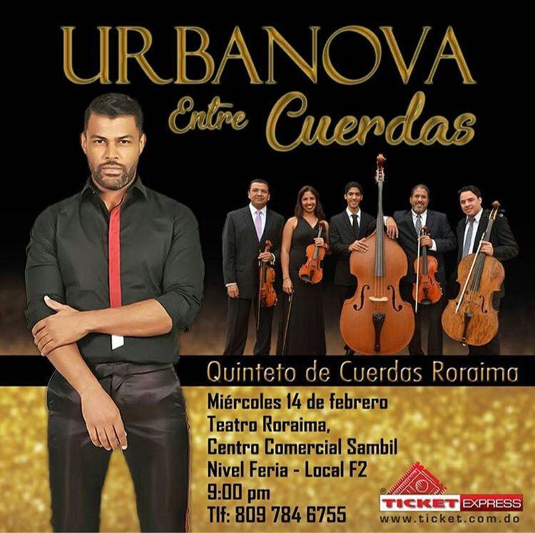 Nuevo concierto de Urbanova junto al Quinteto Roraima