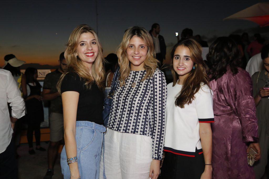 Janina Backhaus, Josie Estrella y Alejandra Pérez Bermúdez