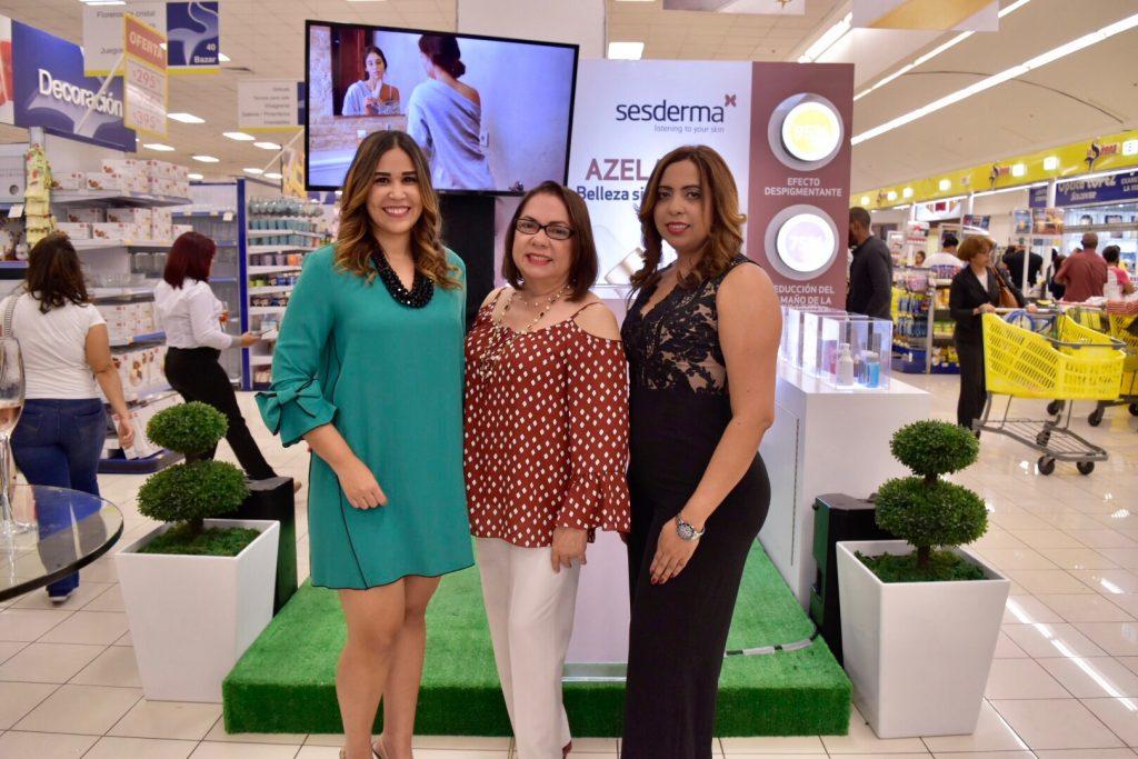 Ambar Hernández, Zaida Brea y Yomares Díaz