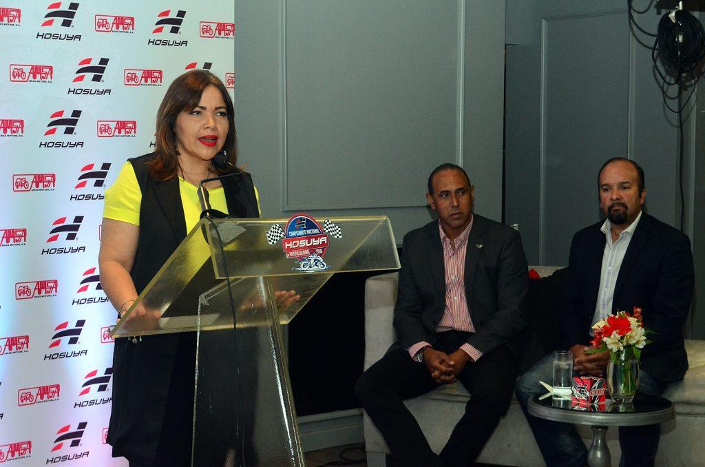 Danilsa Polanco, Diego Campos y Diego Almonte.