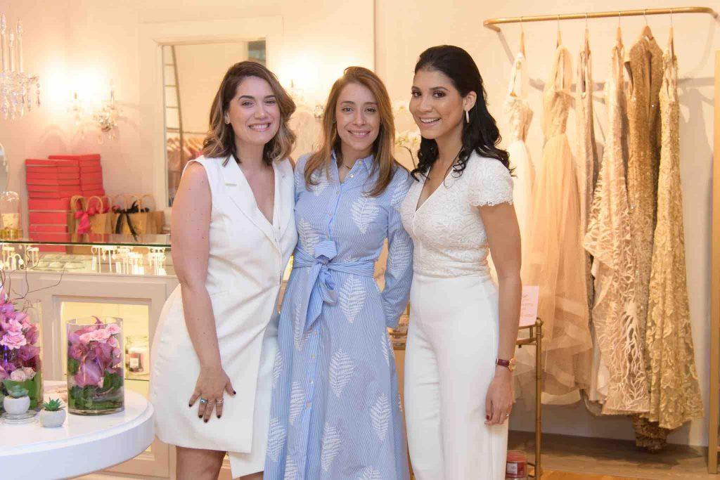 Maria Conchita, Francesca Robiou y Gabrielle Boulos