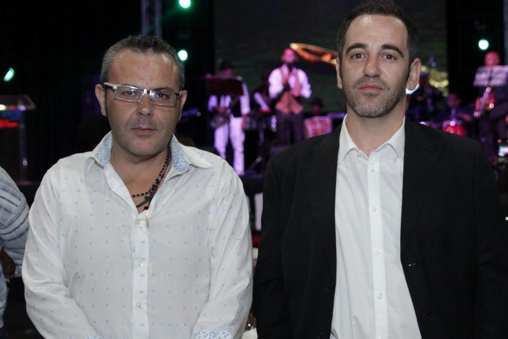 Javier Conde y Dominico Ferrisa.