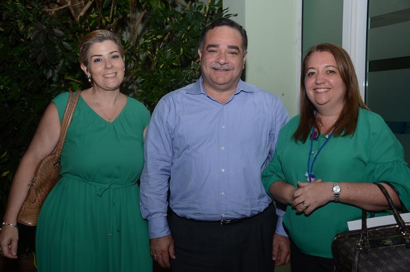 Lisbeth Sahad, Marcos Cochón y Karen Hued.