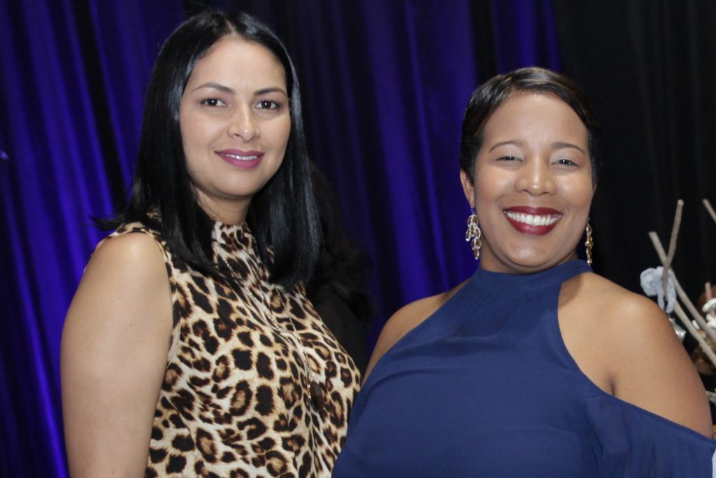 Virginia Báez y Milka Hernández.
