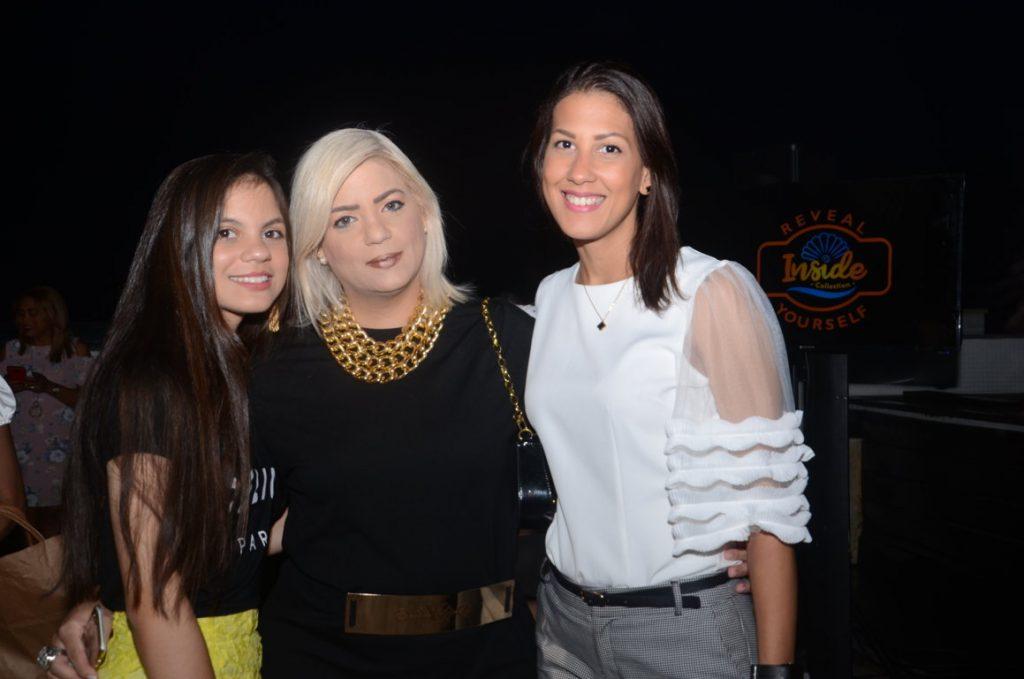 Camila Cannan, Fatima Senra y Lissette Senra