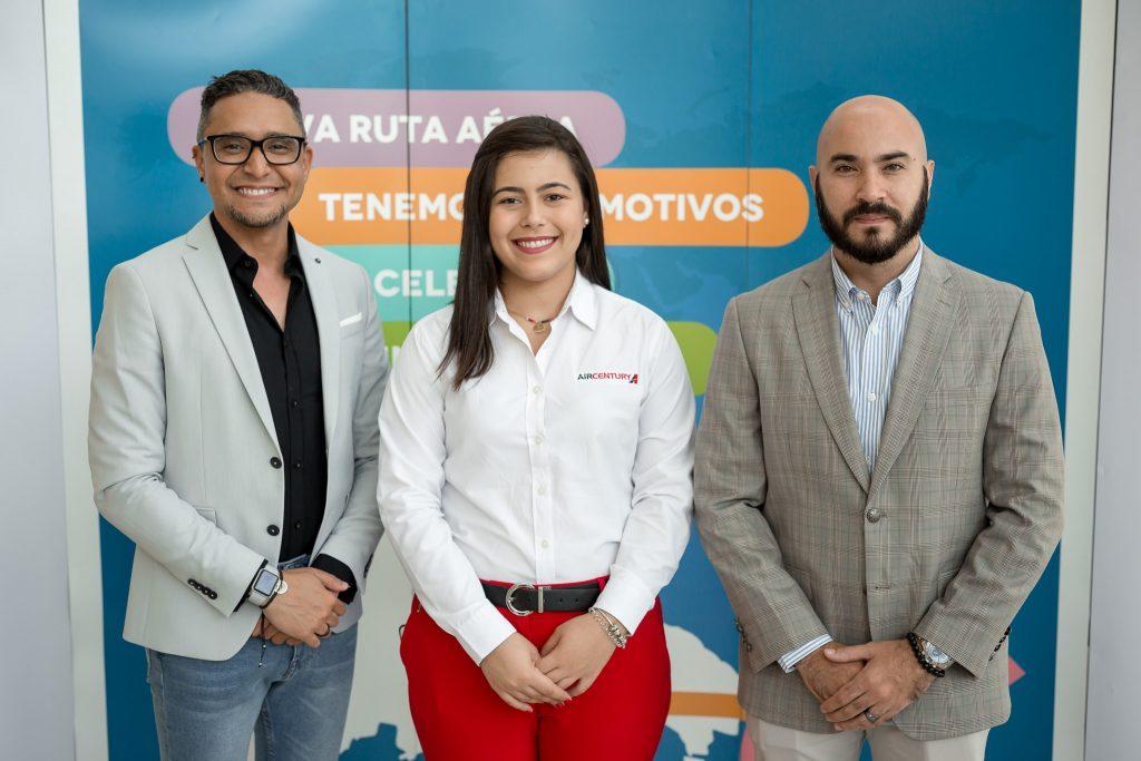 Fabio Nina, Arantxa Chahin y Carlos Jiménez.