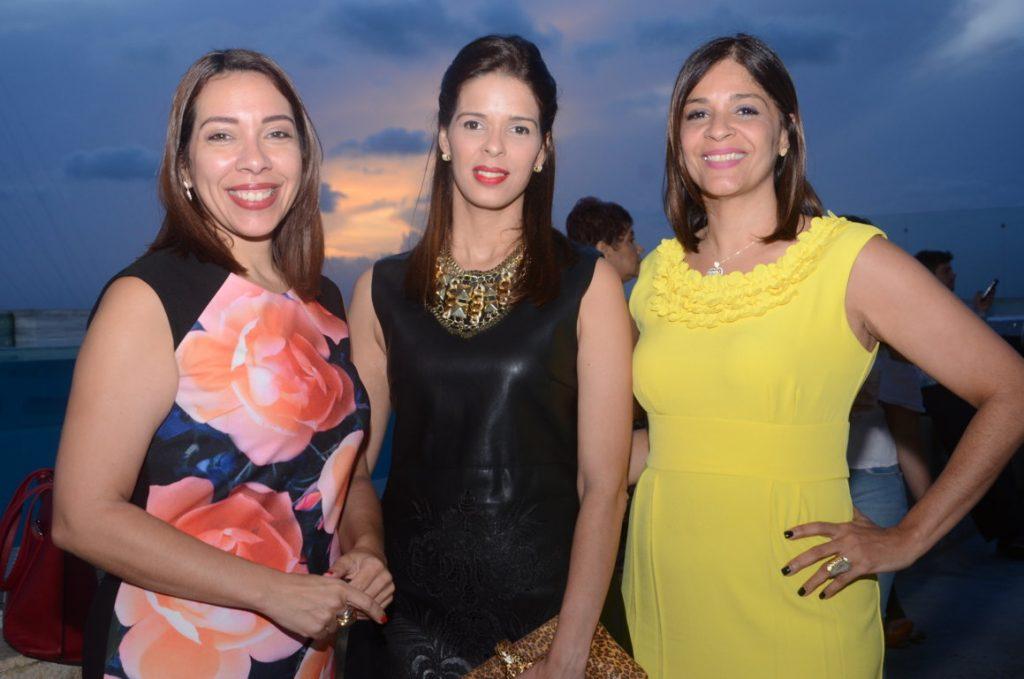 Lisette Rosario, Mariela Brache y Tania Brache