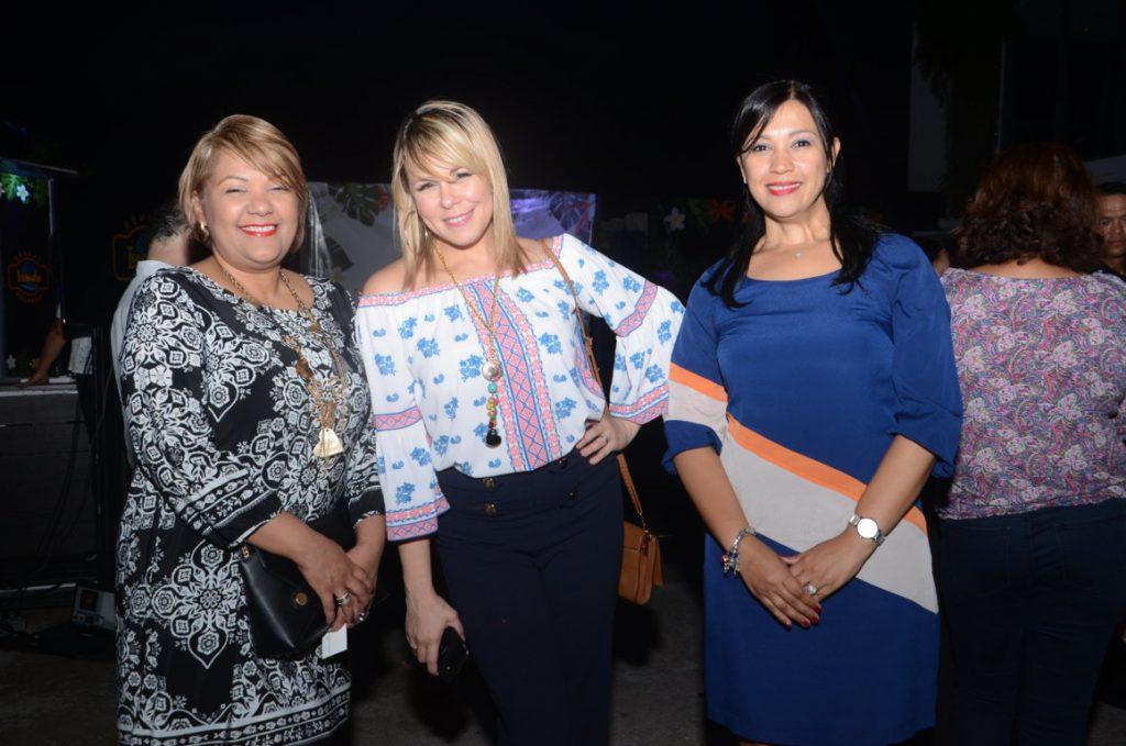 Miguelina Cepeda, Evangelina Ochoa y Margie Aristy