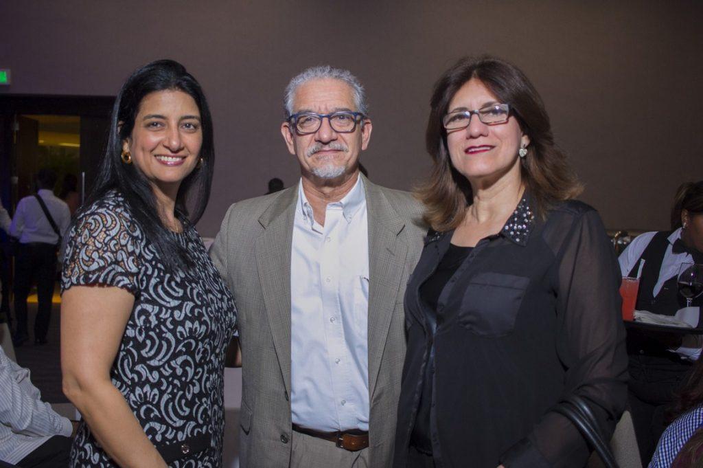 Indhira Risk, Julio Camarera, Rosalia Báez González