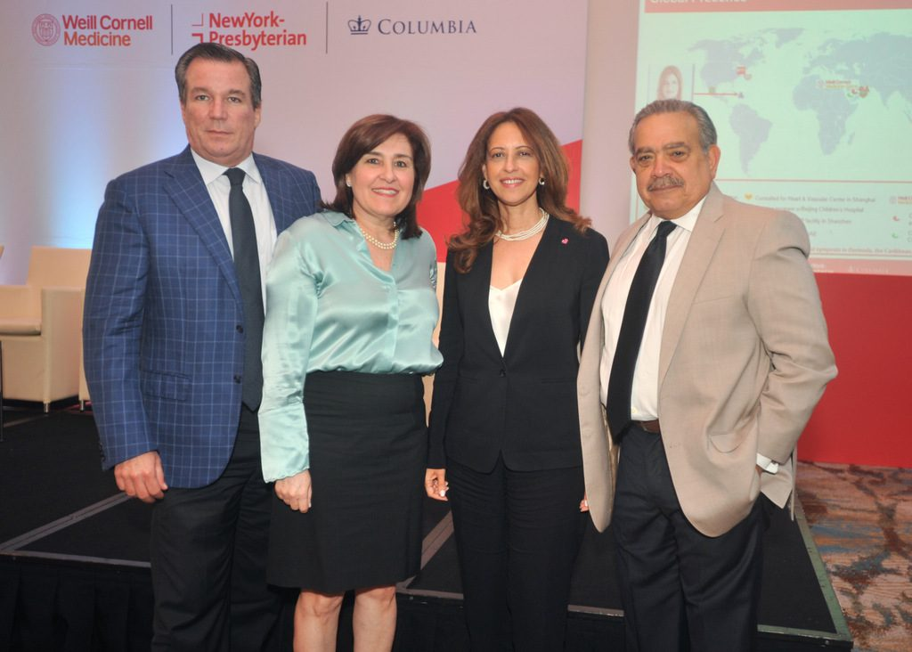 José González de Rey, Maria del Rey, Jacqueline Martinez y José Ramón Prats