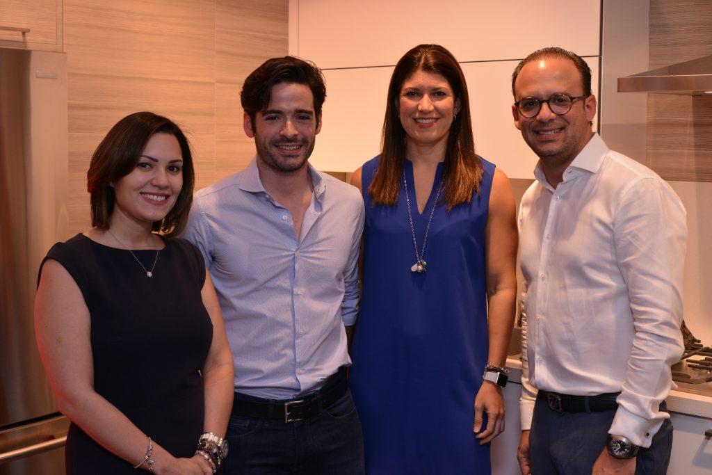 Karla Dominguez,Jose Manuel Alvarez ,Lashmi Desangles,Marco Perello