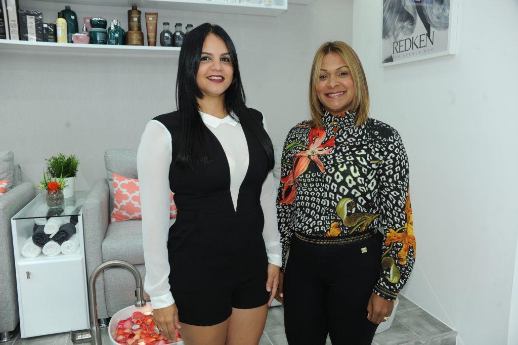 GisselleMateo y Erika Quesada.