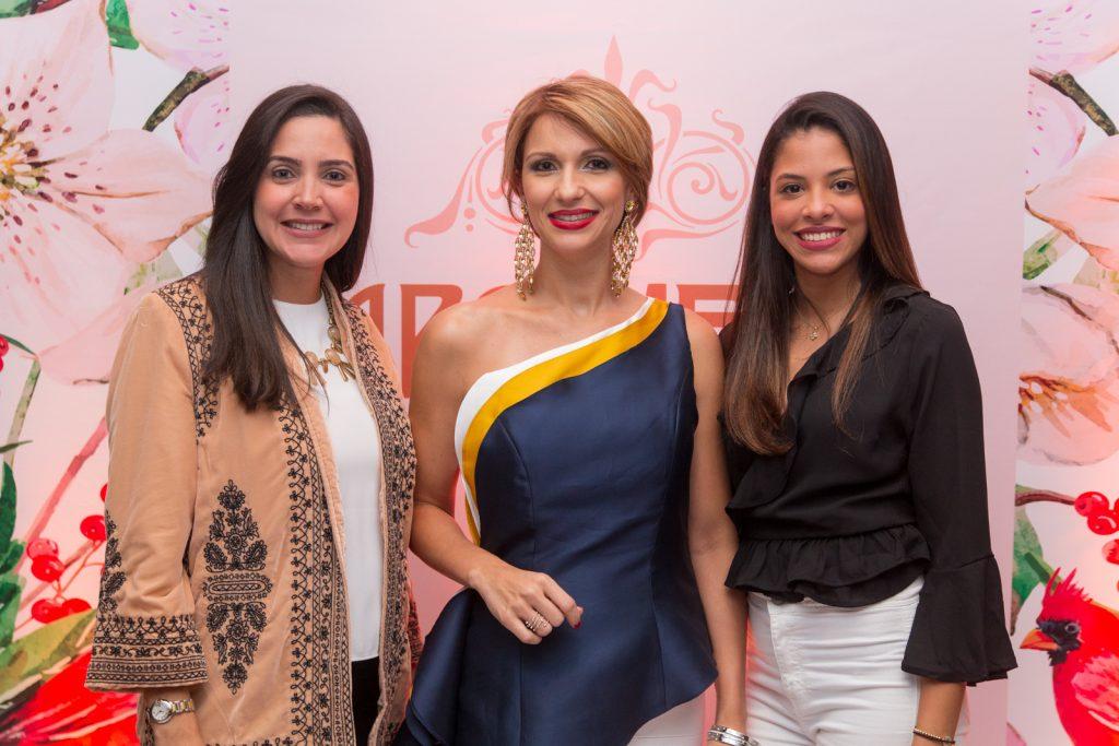 Bella Baez, Evelyn Fernández y Marlyn Martínez