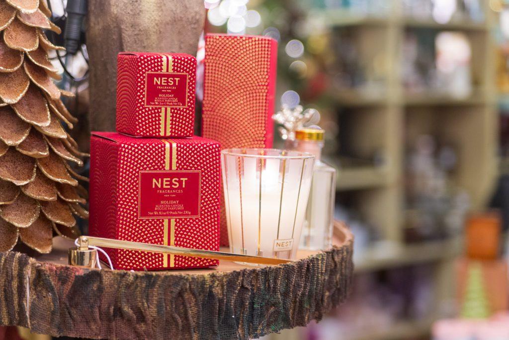 Fragancias Nest, colección navideña Aromelia