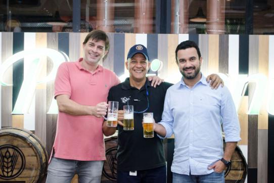 Roberto Guido, Felipe Felipe y Leandro Mendoça