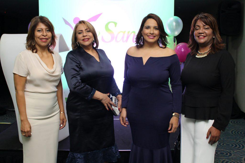 Bethania Luperón, Luisa María de Aquino, Elizabet Gutiérrez y Amarilys Duran