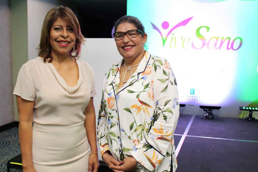 Bethania Luperón y Josefina Bueno