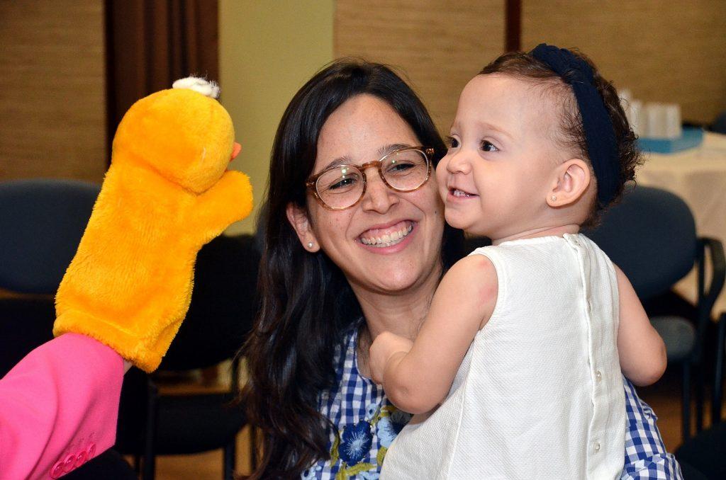Elaine Abreu y María Pía Abreu.