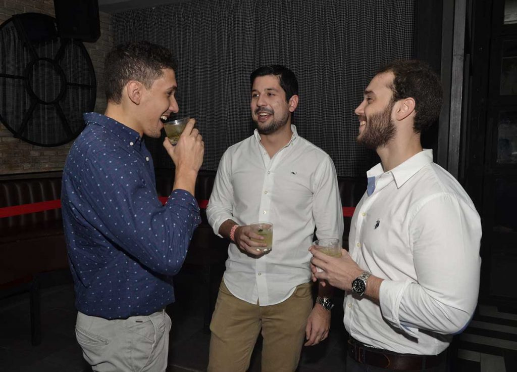 Milton Zarzuela, Luis Rodríguez y Alejandro Toca