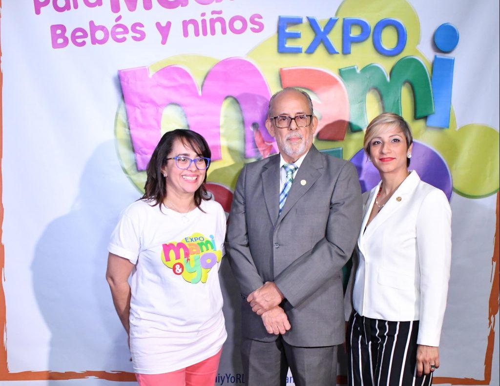 Nazzira Santana, Allan Vargas y Sandra D´Aleman.