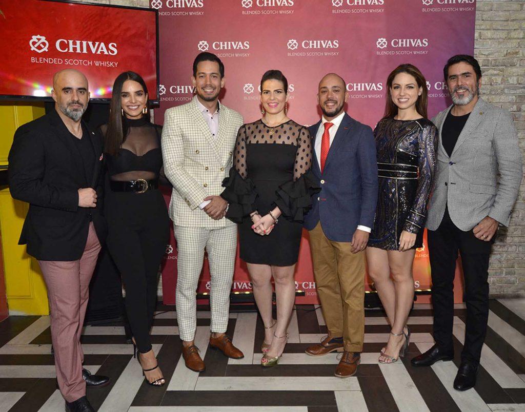 Raulito Grisanty, Glency Feliz, Carlos Báez, Dashiel Duran, Eduardo Santos, Lorenna Pierre y Pedro Fondeur