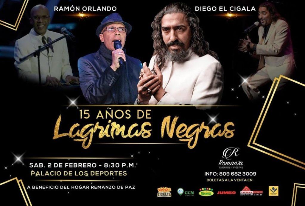 AFICHE DIEGO EL CIGALA Y RAMON ORLANDO