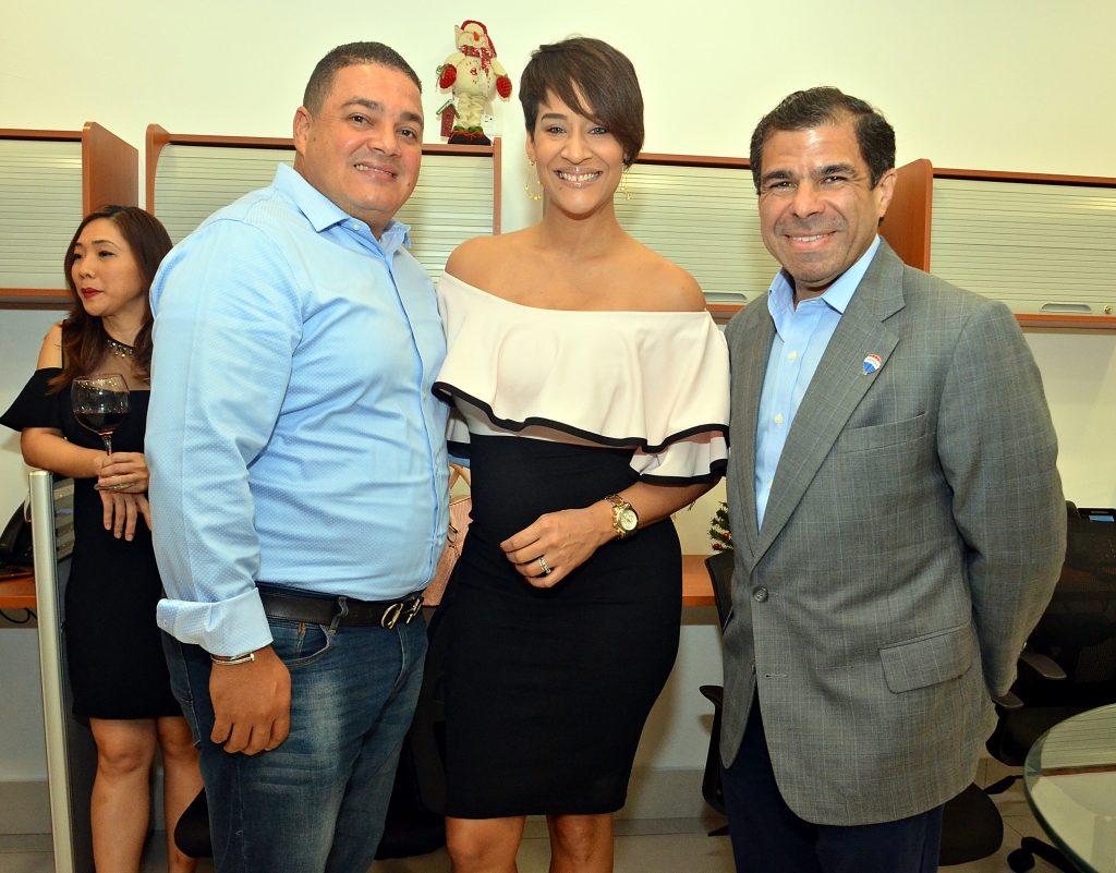 Pavel Sanchez, Heidy Grullon y Mélido Marte