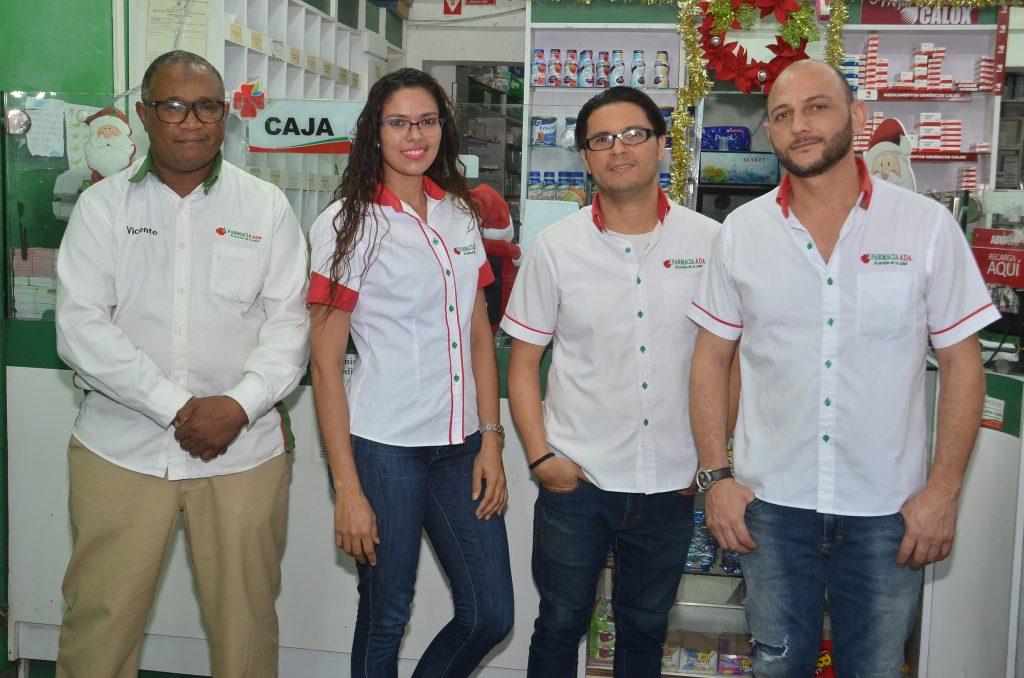 Vicente Silfa, Jacqueline Capellan, Carlos Gonzalez y Naini Sabbagh.