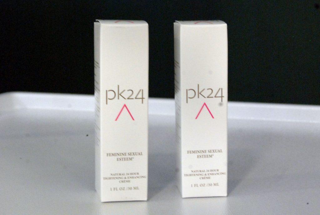 La nueva crema PK24.