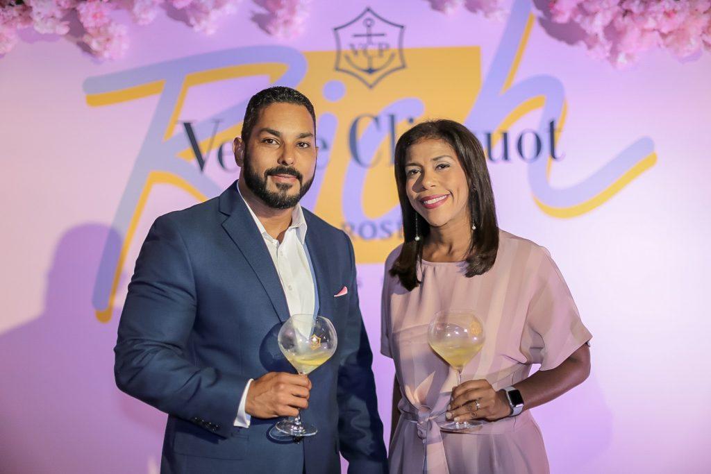 Rodolfo Bodden y Wanda González