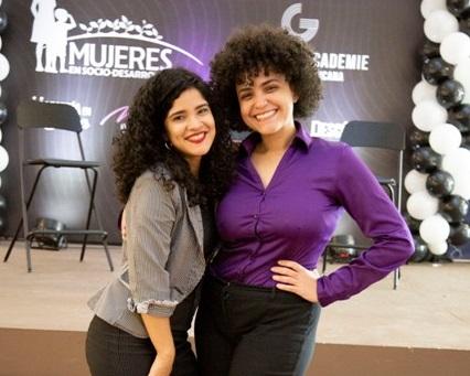 Yanhna Puello y Marycris Brito.